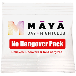 Hangover Tablet Packets Full Color