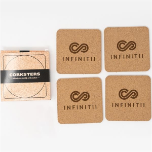 Corkster Coaster Set